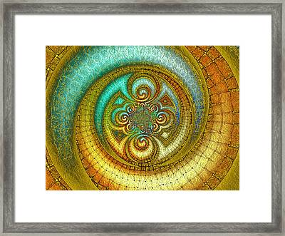 Antiquity's Gold 1 Framed Print by Wendy J St Christopher