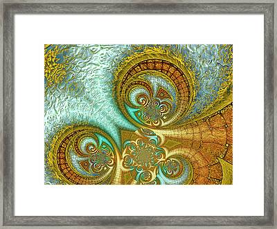 Antiquity's Gold 3 Framed Print by Wendy J St Christopher