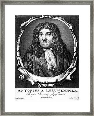 Anton Von Leeuwenhoek Framed Print by Universal History Archive/uig