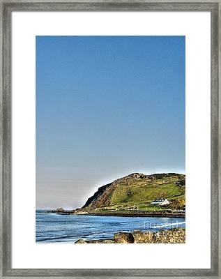 Antrim Coast Framed Print by Nina Ficur Feenan