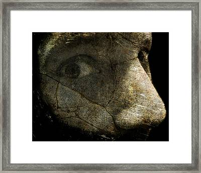 Anxiety Framed Print by Mark Miller