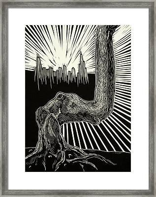 Anyway Framed Print by David Honaker