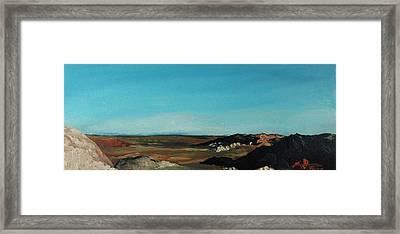 Anza - Borrego Desert Framed Print by Joseph Demaree