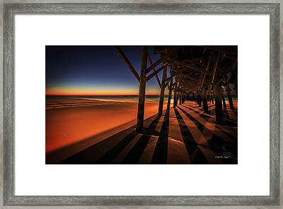Apache Pier II Framed Print by Everet Regal