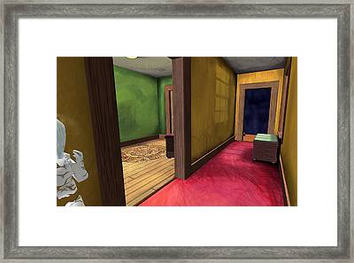 Apartment 5 B 7 2011 Framed Print by Thomas Griffith