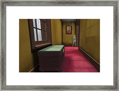 Apartment 5b 4 2011 Framed Print by Thomas Griffith