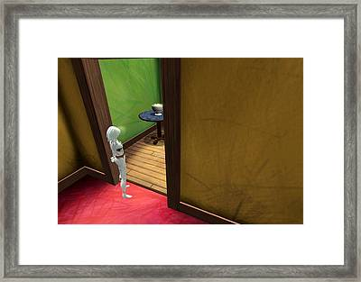 Apartment 5b 8 2011 Framed Print by Thomas Griffith