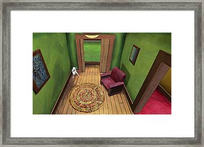 Apartment 5b 9 2011 Framed Print by Thomas Griffith