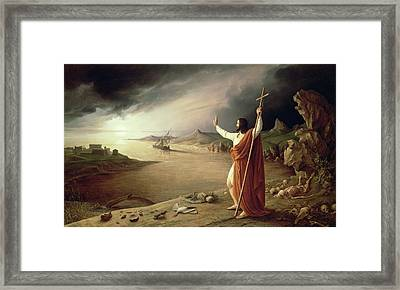 Apocalypse, 1831 Framed Print by Ludwig Ferdinand Schnorr von Carolsfeld