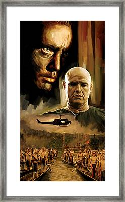 Apocalypse Now Artwork Framed Print by Sheraz A