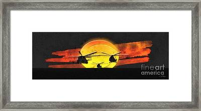 Apocalypse Now Framed Print by Mo T