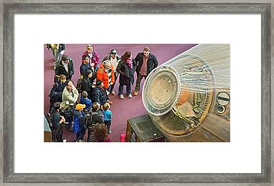 Apollo 11 Command Module 'columbia' Framed Print by Jim West
