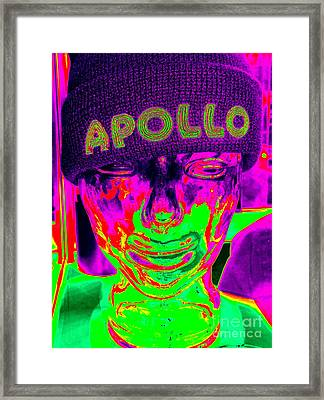 Apollo Abstract Framed Print by Ed Weidman