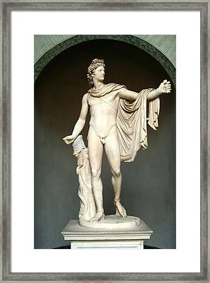 Apollo Belvedere Framed Print by Ellen Henneke