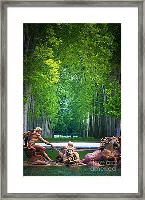 Apollo Fountain Framed Print by Inge Johnsson