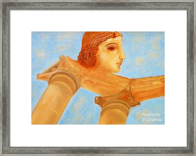 Apollo Hylates Framed Print by Augusta Stylianou