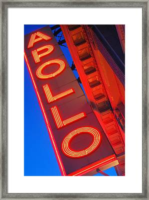 Apollo Nights Framed Print by James Kirkikis