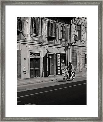 Apoteka Framed Print by Zeljko Dozet