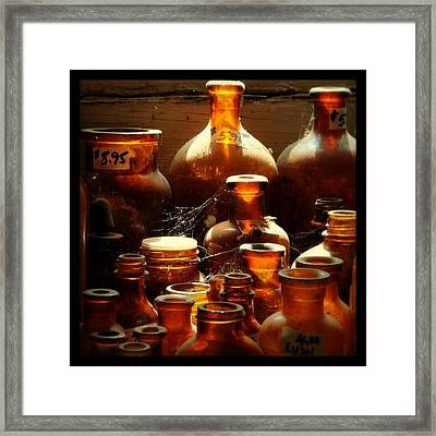 Apothecuriosity Framed Print by Fetching Sights Photography