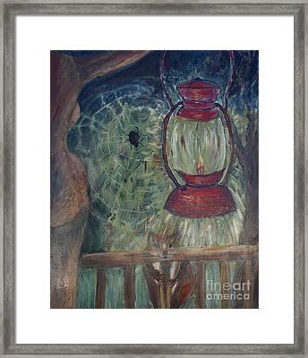 Appalachian Nights  Framed Print by Avonelle Kelsey