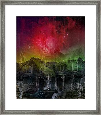 Apparition And Sighting Framed Print by Solomon Barroa