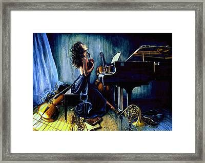 Appassionato Framed Print by Hanne Lore Koehler