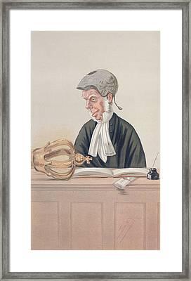 Appeals Framed Print by Leslie Mathew Ward