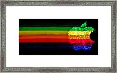Apple Computer Inc Framed Print by Benjamin Yeager