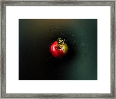 Apple Framed Print by Ivan Vukelic