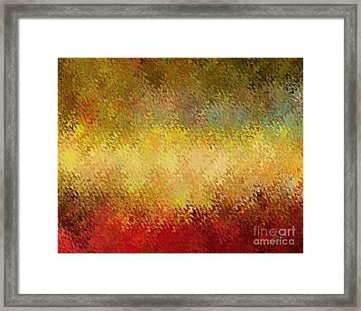 Apple Spice Framed Print by David K Small