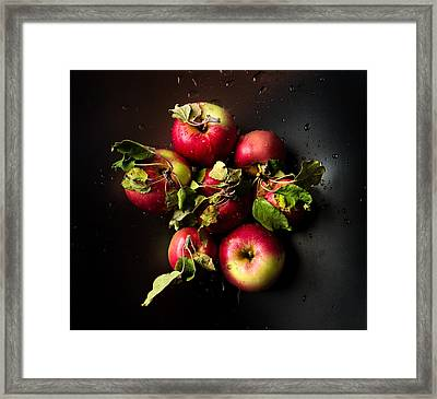 Apples Framed Print by Ivan Vukelic