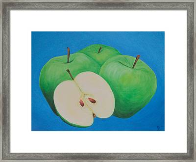 Apples Framed Print by Sven Fischer