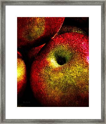 Apples Two Framed Print by Bob Orsillo