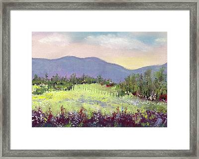 Approaching Home Framed Print by David Patterson