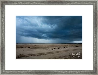 Approaching Storm - Outer Banks Framed Print by Dan Carmichael