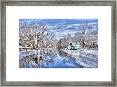 Approaching The Fall Framed Print by Richard Bean