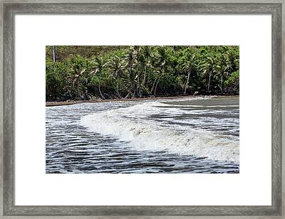Approaching Typhoon Framed Print by Jim Edds