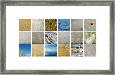 April Beach 2.0 Framed Print by Michelle Calkins
