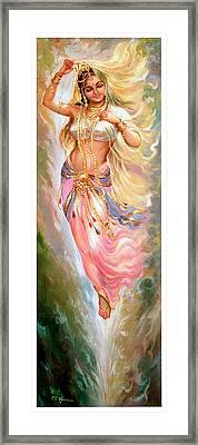 Apsara Framed Print by Mayur Sharma