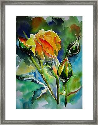 Aquarelle Framed Print by Elise Palmigiani