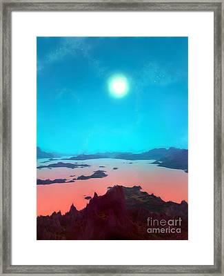 Aquarius Prime Framed Print by Pet Serrano