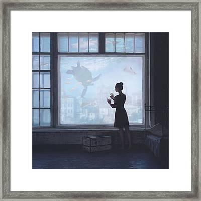 Aquatic Framed Print by Anka Zhuravleva