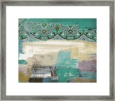 Arabesque 29 Framed Print by Shah Nawaz