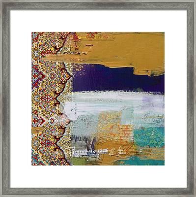 Arabesque 31 Framed Print by Shah Nawaz