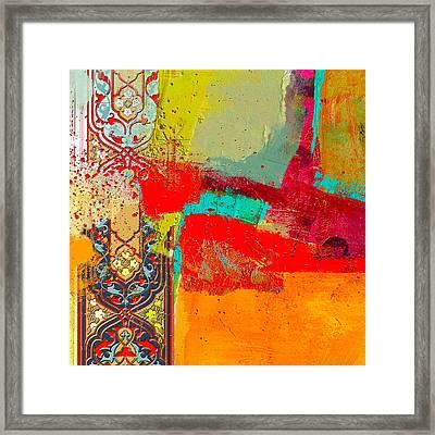 Arabesque 35 Framed Print by Shah Nawaz