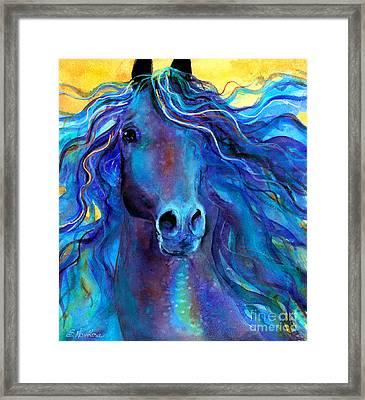 Arabian Horse #3  Framed Print by Svetlana Novikova