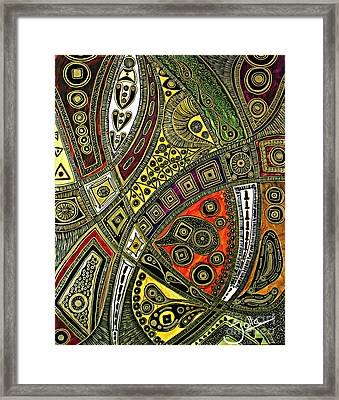 Arabian Nights Framed Print by Jolanta Anna Karolska