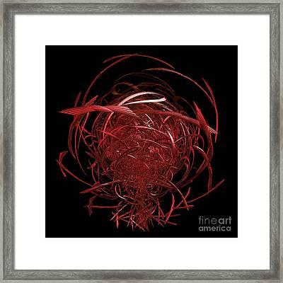 Arachnid By Jammer Framed Print by First Star Art