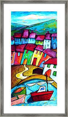 Arbori - Amalfi Coast - Italy Framed Print by Sara Catena