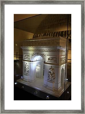 Arc De Triomphe - Paris France - 01134 Framed Print by DC Photographer